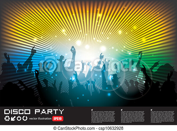 gens, fête - csp10632928