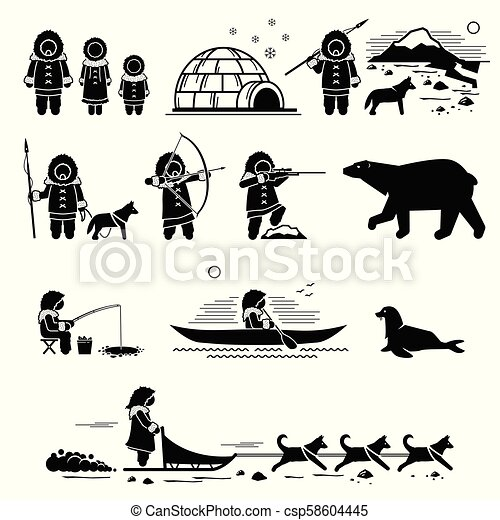 Gens Style De Vie Esquimau Animals