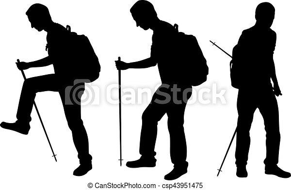gens, trekking - csp43951475