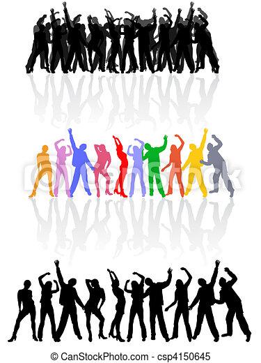 Bailando - csp4150645