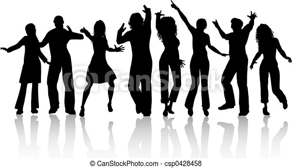 gente, bailando - csp0428458