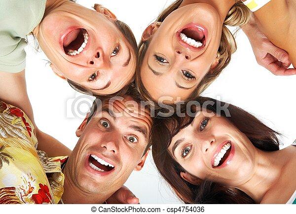 Gente feliz - csp4754036