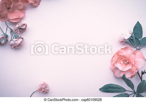 gentle floral border