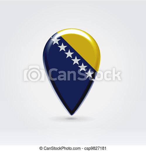 Geo location national point label - csp9827181