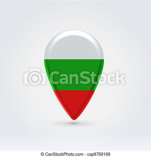 Geo location national point label - csp9769169
