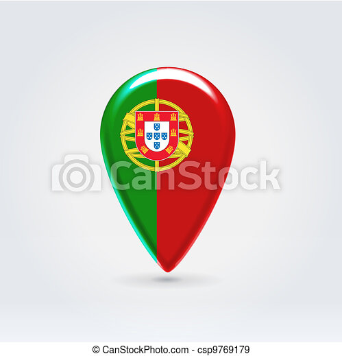 Geo location national point label - csp9769179