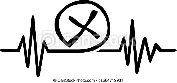 Geocaching heartbeat line - csp64719931