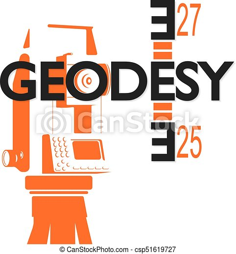 Geodesy Symbol For Business Geodesy And Cartography Symbol For