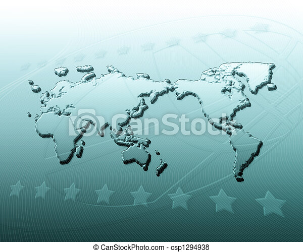 Geography abstract background - csp1294938