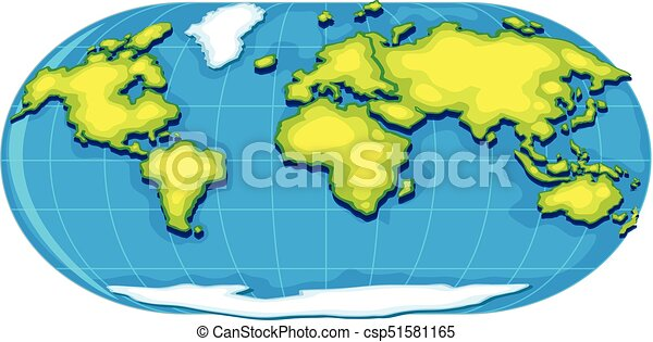 Geography poster with world map illustration geography poster with world map csp51581165 gumiabroncs Choice Image