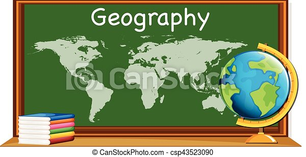 Geography subject with worldmap and books illustration geography subject with worldmap and books csp43523090 gumiabroncs Choice Image