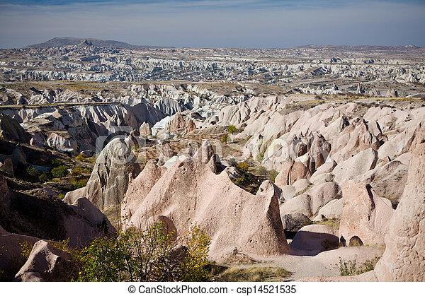 Geological miracle of Cappadocia - csp14521535
