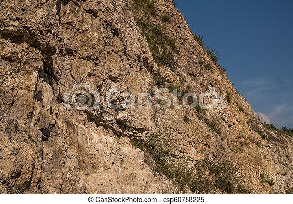geological outcrop - csp60788225