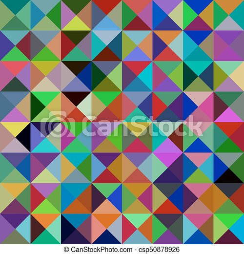 geometric abstract triangle mosaic pattern background vector