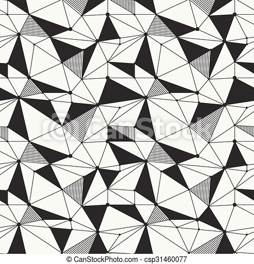 geometric line hipster seamless pattern with triangle vectors rh canstockphoto com vector geometric pattern download vector geometric pattern free