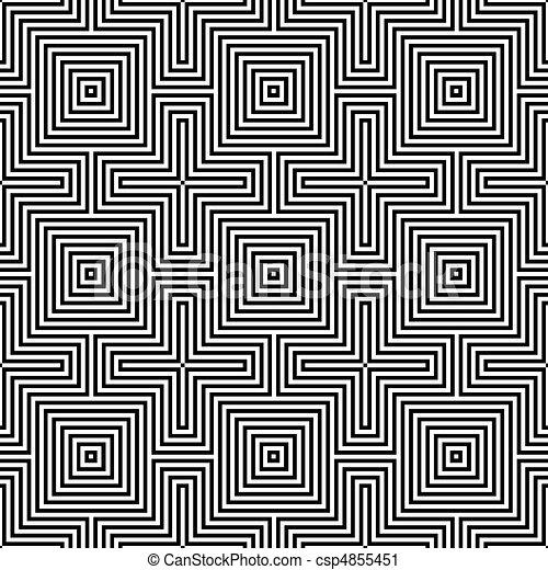 geometric ornament. - csp4855451