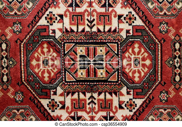 geometric pattern Persian carpet - csp36554909
