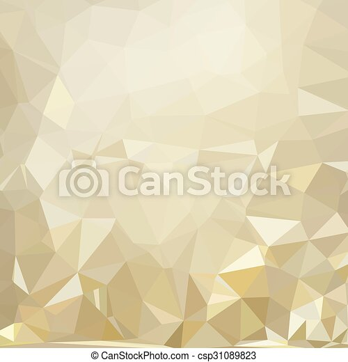 geometric pattern, triangles background, polygonal - csp31089823