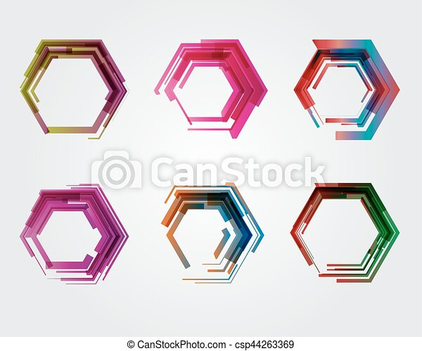 Geometric pentagon. Business abstract icon. As sign, symbol, logo, web,
