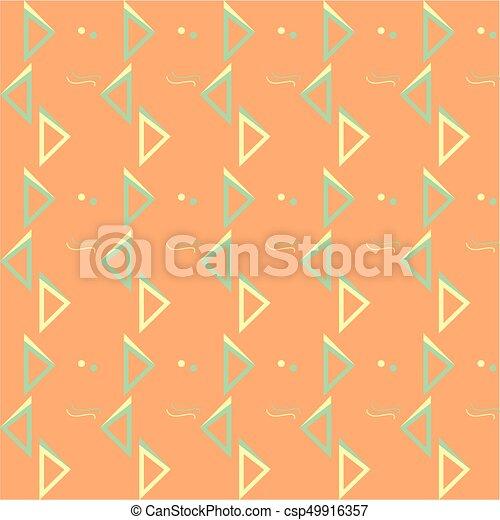 Geometric seamless pattern - csp49916357