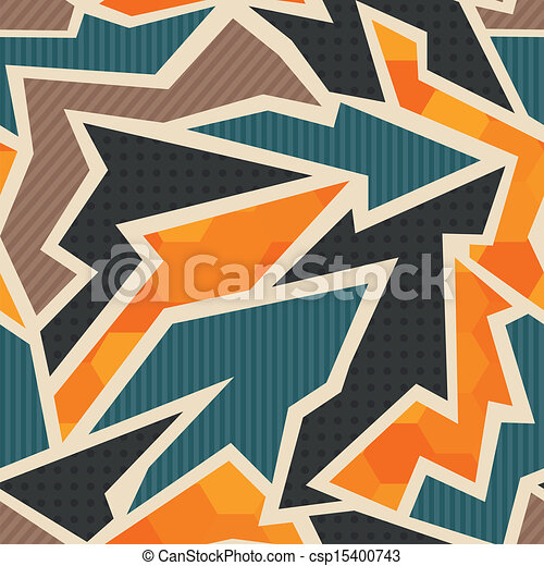 geometric seamless pattern - csp15400743