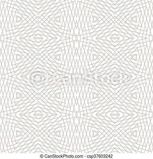 Geometric seamless pattern. - csp37603242