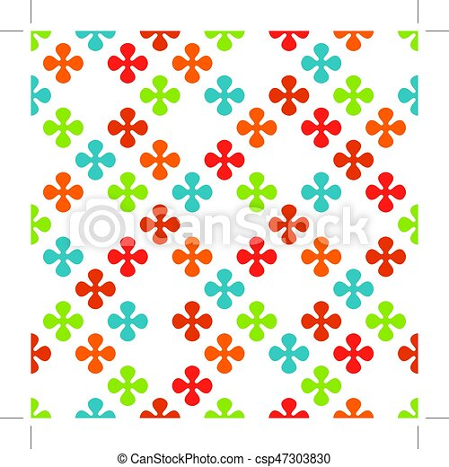 Geometric seamless pattern - csp47303830