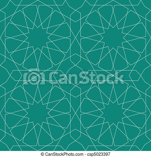 Geometric Seamless Pattern - csp5023397