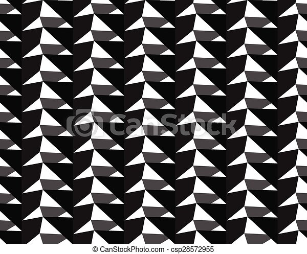 geometric seamless pattern vector background - csp28572955