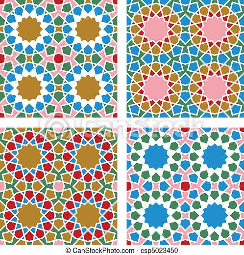 Geometric Seamless Pattern  - csp5023450