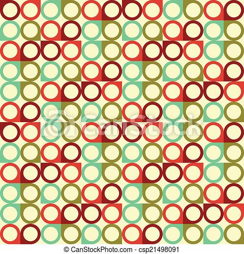 Geometric seamless pattern. Vector background - csp21498091
