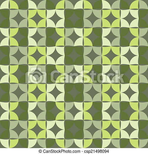Geometric seamless pattern. Vector background - csp21498094
