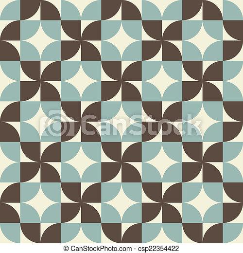 Geometric seamless pattern, vector background. - csp22354422