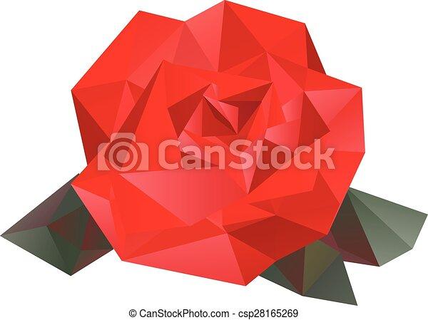 Geometric Vector Rose