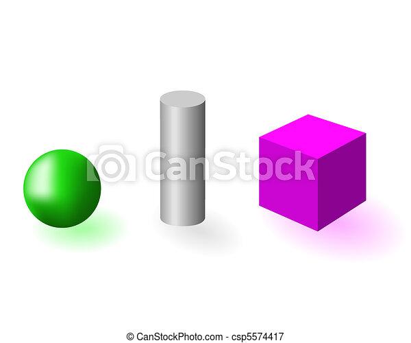 Geometrical figure - csp5574417