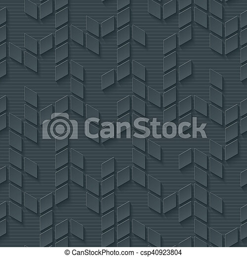 geometrico, astratto, pattern., seamless, ciao-tecnologia - csp40923804