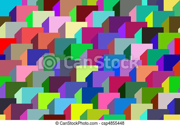 geometrisch, ornament. - csp4855448