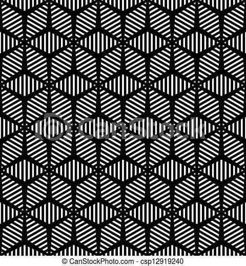 geometrisch, pattern., seamless - csp12919240