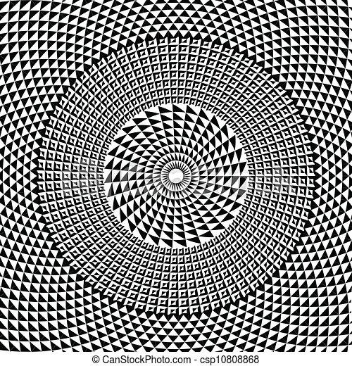geometrisch, vector, pattern., illustratie - csp10808868