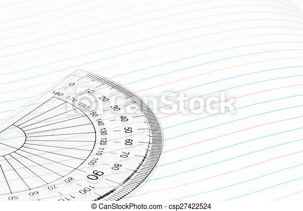 Geometry ruler - csp27422524