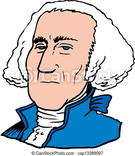 george washington eps vectors search clip art illustration rh canstockphoto ca george washington clip art images george washington clipart black and white