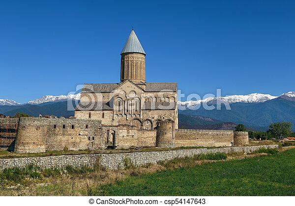 Monasterio Alaverdi, Georgia - csp54147643