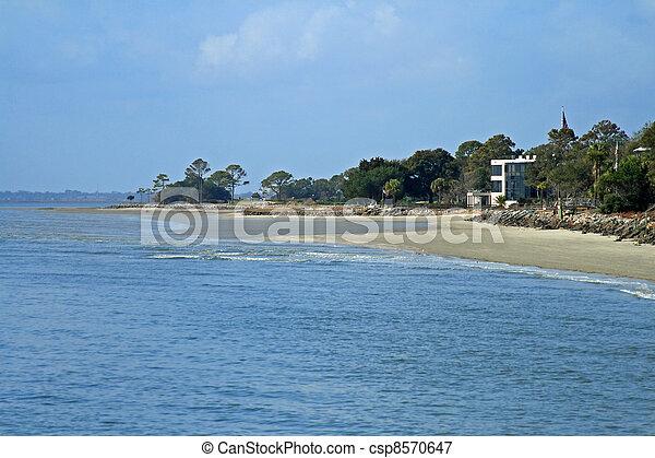 Georgia coast St Simons Island - csp8570647