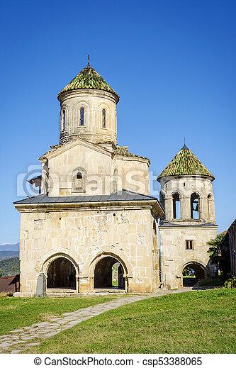 monasterio Gelati, Georgia - csp53388065