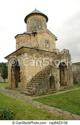 Monasterio Gelati ortodoxo, Georgia - csp8423136