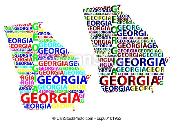 Map Of America Georgia.Georgia Map