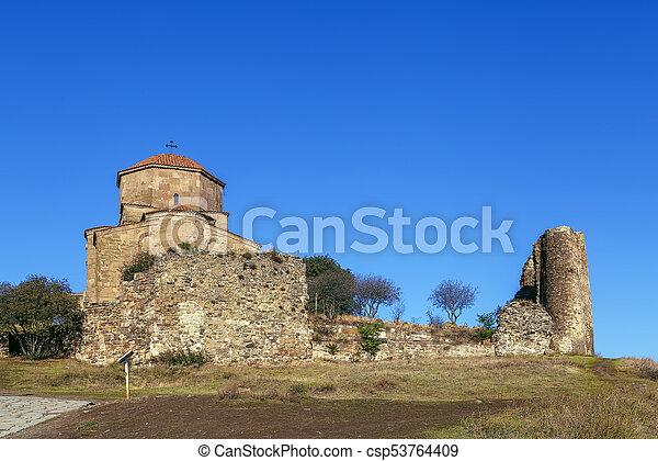 Monasterio Jvari, Georgia - csp53764409