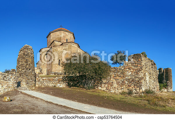 Monasterio Jvari, Georgia - csp53764504