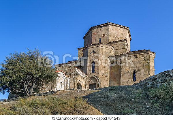 Monasterio Jvari, Georgia - csp53764543