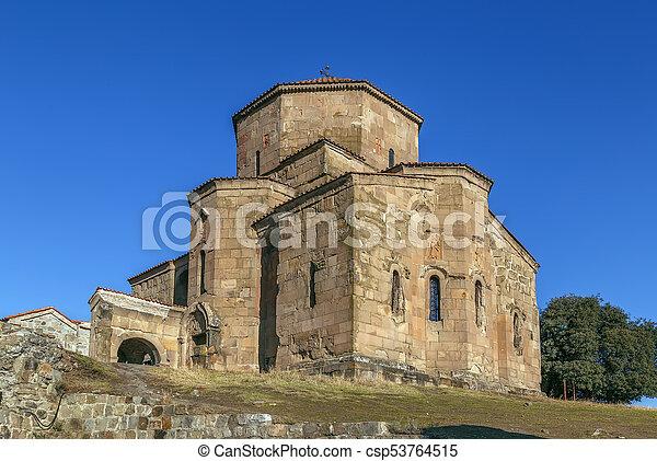 Monasterio Jvari, Georgia - csp53764515
